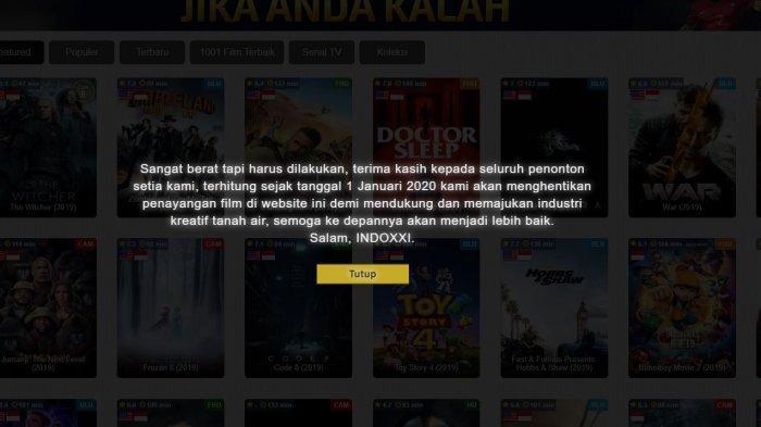 Kemkominfo Menutup Situs IndoXXI